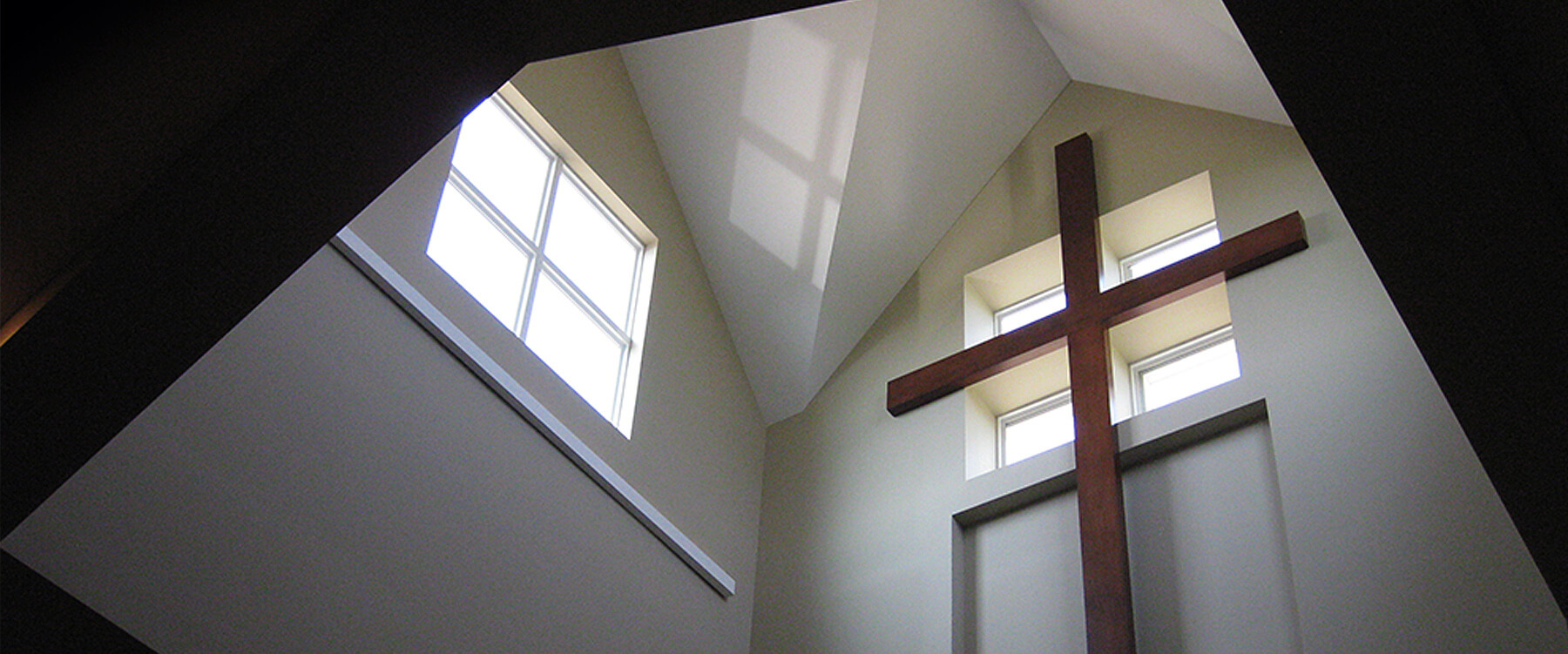 Good Shepherd Lutheran Church Interior Cross