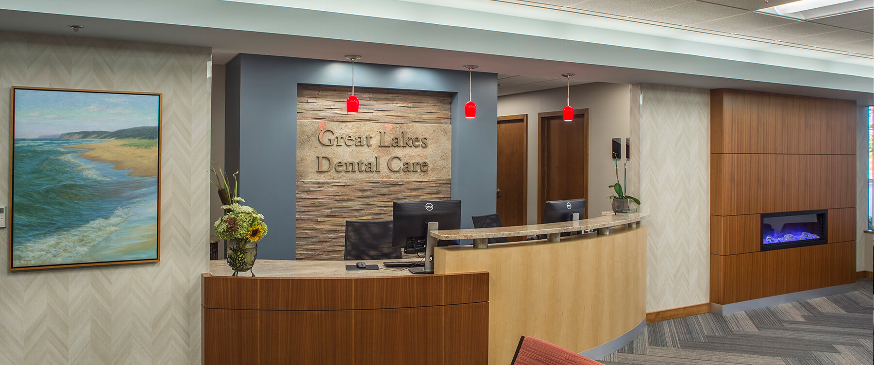 Great Lakes Dental front Desk